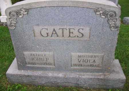 GATES, VIOLA - Belmont County, Ohio | VIOLA GATES - Ohio Gravestone Photos