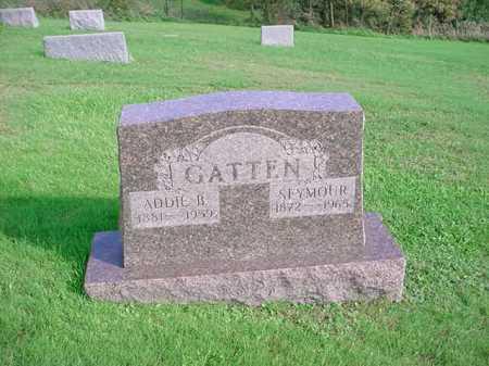 GATTEN, SEYMOUR - Belmont County, Ohio   SEYMOUR GATTEN - Ohio Gravestone Photos