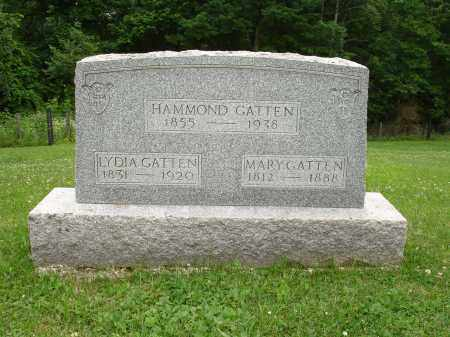 GATTEN, HAMMOND - Belmont County, Ohio | HAMMOND GATTEN - Ohio Gravestone Photos