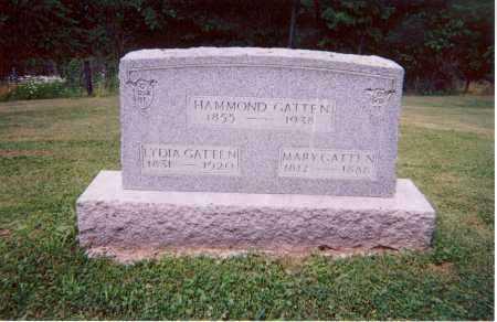 GATTEN, LYDIA - Belmont County, Ohio | LYDIA GATTEN - Ohio Gravestone Photos