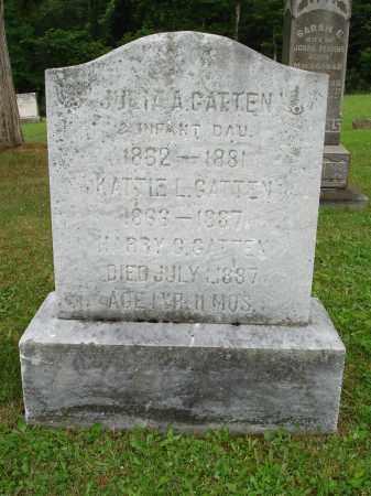 GATTEN, JULIA A - Belmont County, Ohio | JULIA A GATTEN - Ohio Gravestone Photos