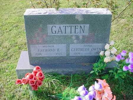 GATTEN, RAYMOND H. - Belmont County, Ohio | RAYMOND H. GATTEN - Ohio Gravestone Photos