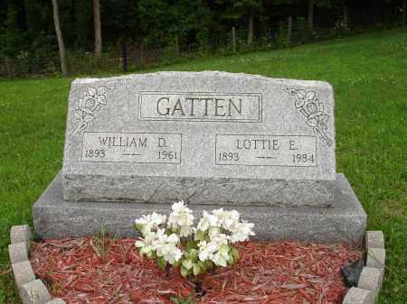 GATTEN, LOTTIE E. - Belmont County, Ohio   LOTTIE E. GATTEN - Ohio Gravestone Photos