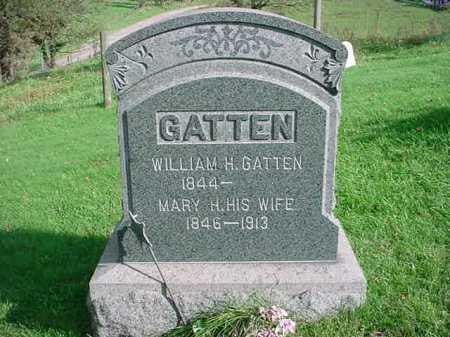 GATTEN, MARY H. - Belmont County, Ohio   MARY H. GATTEN - Ohio Gravestone Photos