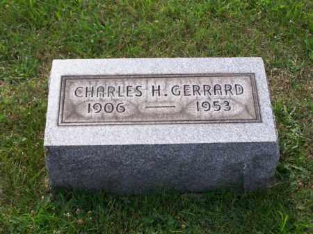 GERRARD, CHARLES H - Belmont County, Ohio   CHARLES H GERRARD - Ohio Gravestone Photos