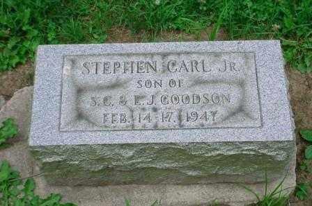 GOODSON, STEPHEN CARL JR. - Belmont County, Ohio | STEPHEN CARL JR. GOODSON - Ohio Gravestone Photos