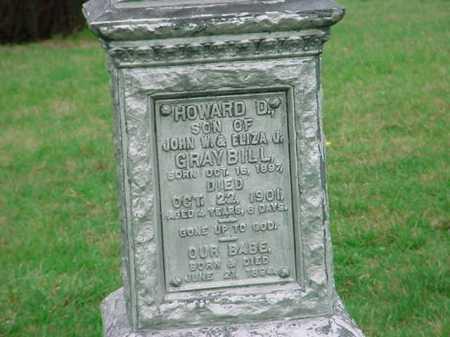 GRAYBILL, HOWARD D. - Belmont County, Ohio | HOWARD D. GRAYBILL - Ohio Gravestone Photos