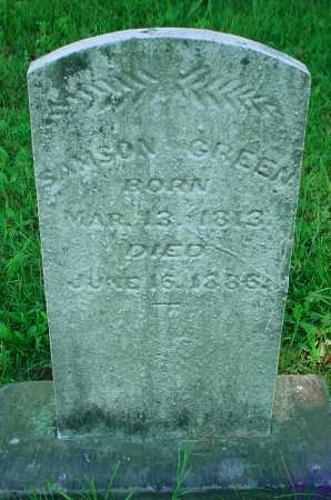 GREEN, SAMSON - Belmont County, Ohio | SAMSON GREEN - Ohio Gravestone Photos