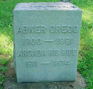 GREGG, ARCADA - Belmont County, Ohio | ARCADA GREGG - Ohio Gravestone Photos
