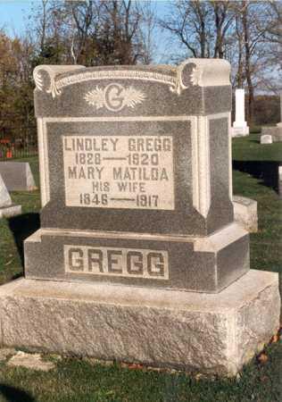 LINGO GREGG, MARY MATILDA - Belmont County, Ohio | MARY MATILDA LINGO GREGG - Ohio Gravestone Photos