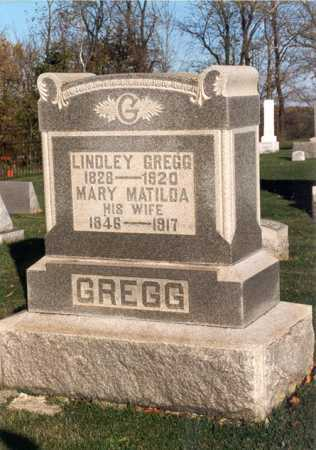 GREGG, LINDLEY - Belmont County, Ohio | LINDLEY GREGG - Ohio Gravestone Photos