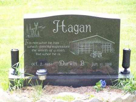 HAGAN, DURWIN B - Belmont County, Ohio | DURWIN B HAGAN - Ohio Gravestone Photos