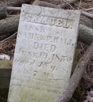 HALL, SAMUEL - Belmont County, Ohio | SAMUEL HALL - Ohio Gravestone Photos