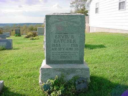 HATCHER, ERVIE B. - Belmont County, Ohio | ERVIE B. HATCHER - Ohio Gravestone Photos
