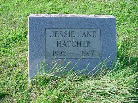 HATCHER, JESSIE JANE - Belmont County, Ohio | JESSIE JANE HATCHER - Ohio Gravestone Photos