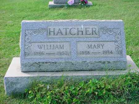 HATCHER, WILLIAM - Belmont County, Ohio | WILLIAM HATCHER - Ohio Gravestone Photos
