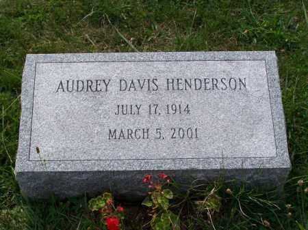 HENDERSON, AUDREY - Belmont County, Ohio | AUDREY HENDERSON - Ohio Gravestone Photos