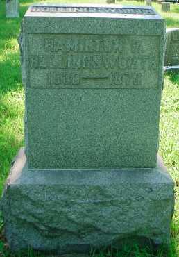 HOLLINGSWORTH, HAMILTON - Belmont County, Ohio | HAMILTON HOLLINGSWORTH - Ohio Gravestone Photos