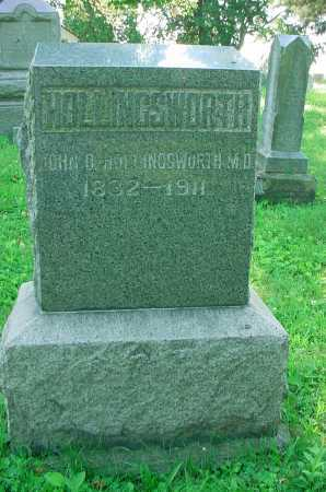 HOLLINGSWORTH, JOHN D. - Belmont County, Ohio | JOHN D. HOLLINGSWORTH - Ohio Gravestone Photos