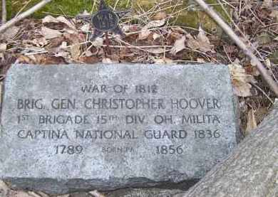 HOOVER, CHRISTOPHER - Belmont County, Ohio | CHRISTOPHER HOOVER - Ohio Gravestone Photos