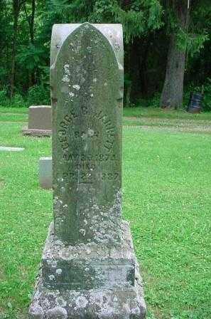 JARRETT, GEORGE - Belmont County, Ohio   GEORGE JARRETT - Ohio Gravestone Photos
