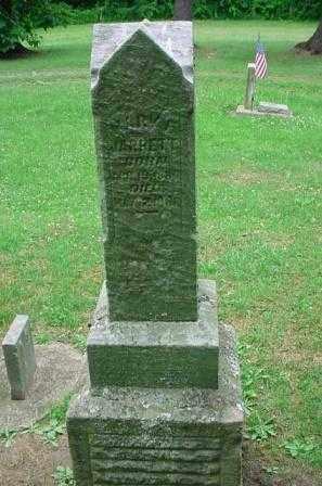 JARRETT, MARY - Belmont County, Ohio | MARY JARRETT - Ohio Gravestone Photos
