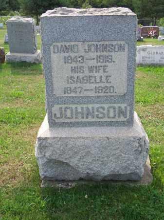 JOHNSON, ISABELLE - Belmont County, Ohio | ISABELLE JOHNSON - Ohio Gravestone Photos