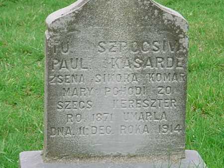 KASARD, PAUL - Belmont County, Ohio | PAUL KASARD - Ohio Gravestone Photos