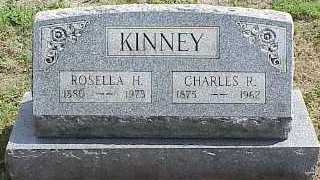 KINNEY, ROSELLA H. - Belmont County, Ohio | ROSELLA H. KINNEY - Ohio Gravestone Photos