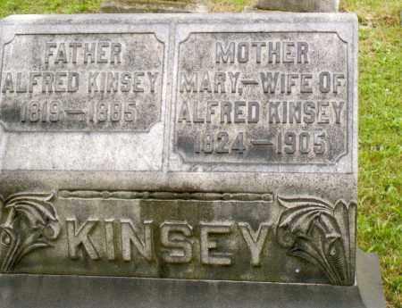 KINSEY, ALFRED - Belmont County, Ohio | ALFRED KINSEY - Ohio Gravestone Photos