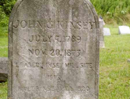 KINSEY, JOHN G - Belmont County, Ohio | JOHN G KINSEY - Ohio Gravestone Photos