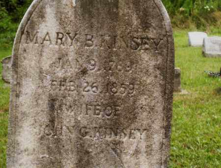 KINSEY, MARY - Belmont County, Ohio | MARY KINSEY - Ohio Gravestone Photos