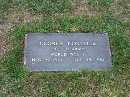 KOSTELIA, GEORGE - Belmont County, Ohio   GEORGE KOSTELIA - Ohio Gravestone Photos