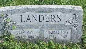LANDERS, MARY MAY - Belmont County, Ohio | MARY MAY LANDERS - Ohio Gravestone Photos