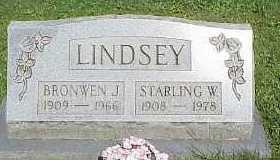 LINDSEY, BRONWEN J. - Belmont County, Ohio | BRONWEN J. LINDSEY - Ohio Gravestone Photos