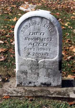 LINGO, SARAH J - Belmont County, Ohio   SARAH J LINGO - Ohio Gravestone Photos