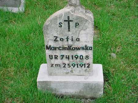 MARCINKOWSKA, ZOFIA - Belmont County, Ohio | ZOFIA MARCINKOWSKA - Ohio Gravestone Photos