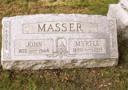 MASSER, JOHN - Belmont County, Ohio | JOHN MASSER - Ohio Gravestone Photos