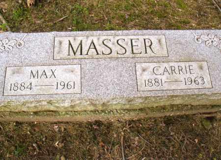 MASSER, MAXMILLIAN (MAX) WILHELM - Belmont County, Ohio | MAXMILLIAN (MAX) WILHELM MASSER - Ohio Gravestone Photos