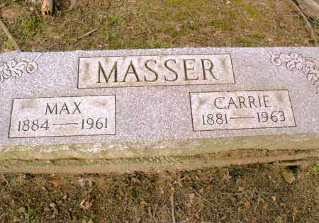 UMBAR MASSER, CARRIE - Belmont County, Ohio | CARRIE UMBAR MASSER - Ohio Gravestone Photos