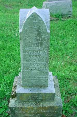MCFARLING, UNKNOWN - Belmont County, Ohio | UNKNOWN MCFARLING - Ohio Gravestone Photos