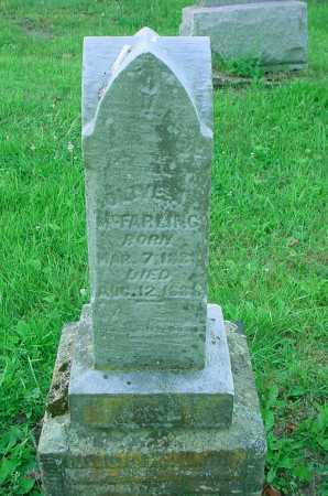 MCFARLING, UNKNOWN - Belmont County, Ohio | UNKNOWN MCFARLING - Ohio Gravestone Photos