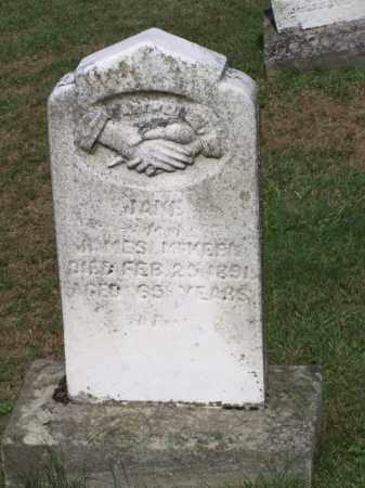 MCKEEN, JANE - Belmont County, Ohio | JANE MCKEEN - Ohio Gravestone Photos