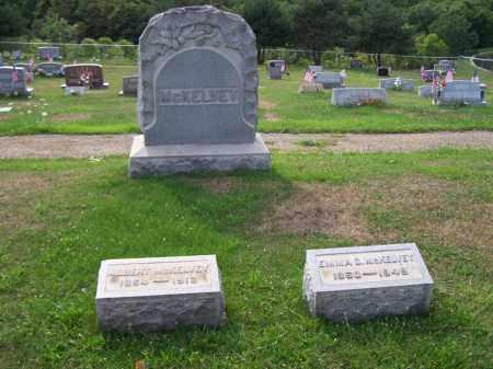 MCKELVEY, FAMILY STONE - Belmont County, Ohio   FAMILY STONE MCKELVEY - Ohio Gravestone Photos