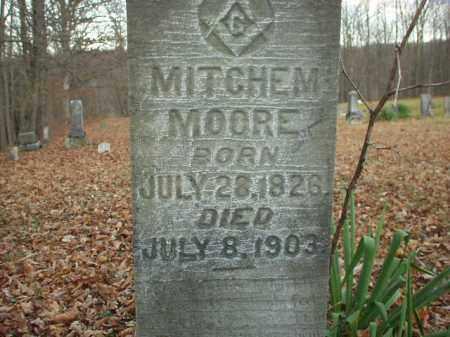 MOORE, MITCHEM - Belmont County, Ohio | MITCHEM MOORE - Ohio Gravestone Photos