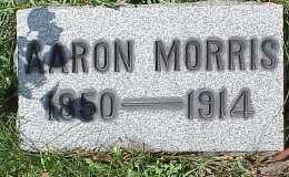 MORRIS, AARON - Belmont County, Ohio | AARON MORRIS - Ohio Gravestone Photos