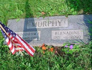 MURPHY, WOODROW - Belmont County, Ohio | WOODROW MURPHY - Ohio Gravestone Photos