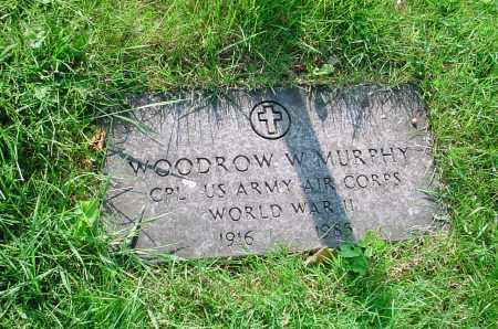 MURPHY, WOODROW W. - Belmont County, Ohio   WOODROW W. MURPHY - Ohio Gravestone Photos