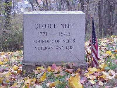 NEFF, GEORGE - Belmont County, Ohio   GEORGE NEFF - Ohio Gravestone Photos