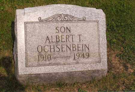 OCHSENBEIN, ALBERT T - Belmont County, Ohio | ALBERT T OCHSENBEIN - Ohio Gravestone Photos